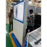 Signage установленный стеной напольный напольный LCD 55 цифров дюйма рекламируя машину