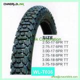 Hot Sale type différent (pneus 3.00-17 moteur en caoutchouc, 3.00-18)