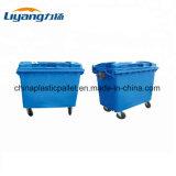1100 Liter-grosse Größen-im Freien Plastikmülleimer mit Rädern