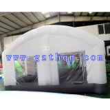 車Painting Inflatable TentかWhiteオックスフォードInflatable Tent