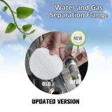O hidrogénio e oxigénio a montante do filtro de água de Carbono do gerador de gás
