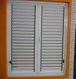 Fenêtres à obturateur à persiennes en bois blanc Topbright pour promotion