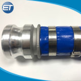 Layflat трубопровода шланга слива воды из ПВХ трубы с фитингами Assemby