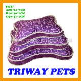 Estera coralina barata del gato del perro del terciopelo de la suavidad y de la comodidad (WY161056-2A/C)