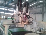 Hartholz-Tür, die Maschinerie-Hilfsmittel herstellt