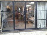 Moderne de bi-Vouwen van het Staal van het Ijzer van het Ontwerp Franse Deur voor Winkel