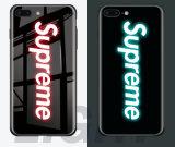 Установите Samsung S9 случае Galaxy, S8, S9 противоударная Примечание8/9 светлый номер телефона из закаленного стекла и мягкий силиконовый TPU телефон случае ЯПФ69