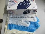Одноразовые порошок свободного виниловых перчаток исследования