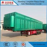 70ton/80ton/90ton/100ton de Semi Aanhangwagen van de stortplaats voor Vervoer van de Steen/van het Zand/van de Mest