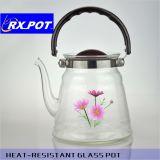 Mehrfache Qualitäts-transparenter Borosilicat-Glas-Kaffee-Potenziometer