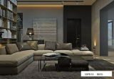 Furniture moderno Sectional Sofa con Fabric Sofa