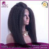 Parrucca piena crespa di Yaki/diritta dei capelli cinesi Virgin del merletto