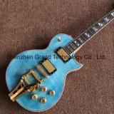 Гитара изготовленный на заказ голубого верхнего стандартного джаза Superme Lp электрическая (GLP-543)