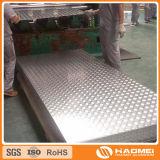 Un grande piatto Checkered di alluminio delle cinque barre (1050 3003 5052)
