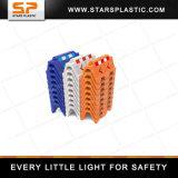 Barreiras de plástico amarelo para venda Barreira Rodoviária Pesos cheio de água