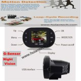 Дешевый горячий автомобиль DVR сбывания FHD 1080P с G-Датчиком, ночным видением, камерой DVR-1501 автомобиля 5.0mega