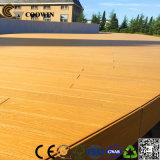 Creux moderne WPC Decking de gaufrage en 3D-de-chaussée