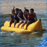 Océano que vuela el barco de plátano inflable para los cabritos y los adultos