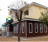 가벼운 강철 별장 조립식 가옥 집을%s 직류 전기를 통한 강철 구조물 집 프레임