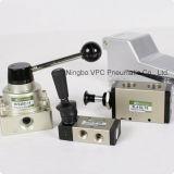manualmente válvula giratória de Airtac da válvula da mão da válvula 4hv