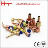 Embout de durites hydraulique droit de colonne métrique de constructeur de la Chine (50011)
