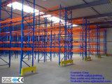 Prateleiras de paletes de malha de arame pesado para armazenamento de armazém