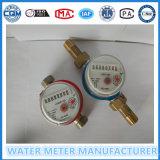 Un solo contador del agua del jet Dn15-25mm
