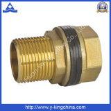 Cor de bronze Niple Hexagonal macho (YD-6019)