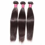 人間の毛髪のブラジルの卸し売り毛のWeftまっすぐ