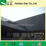 Painéis de parede exterior coloridos de pouco peso duráveis do cimento da fibra