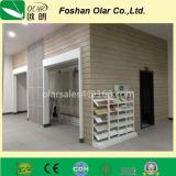 Painel de parede de pouco peso do cimento quente da fibra da textura do falso da venda