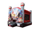 Almofada insuflável de super-heróis de castelo insuflável/almofada insuflável Castelo Saltos Chb390-5