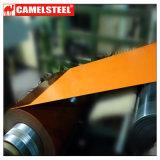 Material de acero de PPGI para las puertas del rodillo como color de Ral