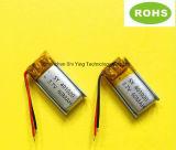 Batteria ricaricabile del Li-Polimero dello Li-ione 3.7V 60mAh Lipo della fabbrica per la cuffia avricolare di Bluetooth del bastone di Selfie