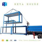주유소 노동자를 위한 Prefabricated 이동할 수 있는 콘테이너 집