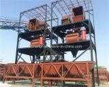 Hzs35 Mobile Concrete Mixing Plant para África do Sul