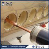 Chauffe-eau solaire de cuivre à haute pression de caloduc