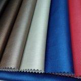 Artificial residencial de imitación de cuero sintético de PVC para muebles -Satin