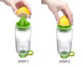 Garrafa de água de vidro popular, frasco do suco, frasco do limão
