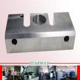 Puder beschichtete maschinelle Bearbeitung mit der CNC maschinellen Bearbeitung