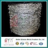 Высоким колючая проволока PVC колючки прочности на растяжение гальванизированная проводом Coated