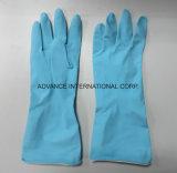 Латекс красочные домашних резиновые перчатки для очистки