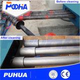 Équipement de sablage de roue pour tuyaux et tubes en acier