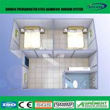 容易な工場は安く会議室が付いている容器20フィートの建築現場のインストールする