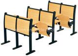 A mesa e a cadeira da etapa da sala de aula da faculdade ajustaram-se (SF-03H)
