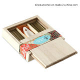Unfinished Wooden Box with High Quality for Tea