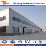 Structure en acier de construction de l'atelier de construction préfabriqués