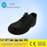 Профессиональный черный защитная обувь Puncture-Resistant нескользким покрытием и поручнями