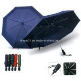 Poignée en silicone Ouverture automatique&Fermeture Parapluie pliant pour cadeau promotionnel