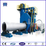 Stahlrohr-äußere Wand-Reinigungs-Geräten-Granaliengebläse-Maschine